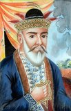 Dost Mohammad Khan (December 23, 1793 - June 9, 1863) was the Emir of Afghanistan between 1826 and 1863. He first ruled from 1826 to 1839 and then from 1843 to 1863. He was the eleventh son of Sardar Pāyendah Khan (chief of the Barakzai tribe) who was killed by Zaman Shah Durrani in 1799.<br/><br/>He was the grandson of Hajji Jamal Khan who founded the Barakzai dynasty in Afghanistan. Dost Mahommed belonged to the Pashtun ethnic group.